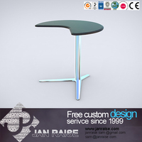 Home furniture high gloss office furniture computer table design