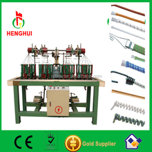 Rope braiding machine with low consuming