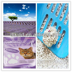 Planet friendly,classic absorbing cat sand ,made in Dalian kitty litter ,on sale
