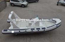 Liya deportivos de marca de lujo yate para la pesca 6.6 m con la consola central y CE