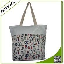 Custom Standard Size Canvas Tote Bag for Shopping