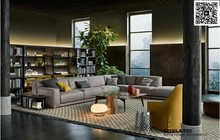 European Style Living Room Luxury Sofa Design