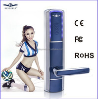 RF / Temic /Mifare1 card access hotel lock professional electronic hotel lock factory