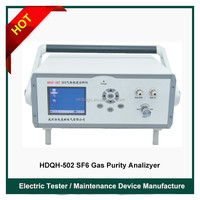 HDSP-502 On-site SF6 Gas Purity Analyzer/Purity Admeasuring Device