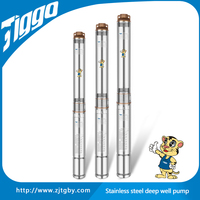 Taizhou TIGGO 4ST10 copper wire stainless steel agricultural irrigation using energy saving submersible pumps 220 volts