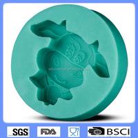 silicone cake mold chocolate cake decorating model cow shape baking mold CD-F348