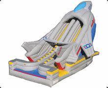 Inflatable Airplane Slide for Adults and Kids