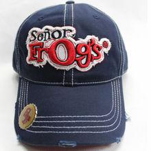 de alta calidad gorra de béisbol con el logotipo bordado