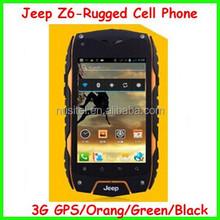 dual core cheap waterproof IP68 smartphone Jeep Z6