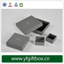 Luxury wholesale high grade recycle handmade custom storage box for jewelry
