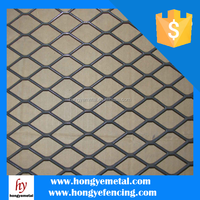 Brass Decorative Expanded Metal Mesh Sheet