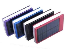 2015 new design portable mobile solar power bank 5000mah OEM/ODM service support