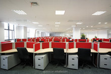simple office partition, customized T shape office workstation office furniture made in china