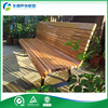 High Quality Used Outside Wooden Furniture Garden Seats Benches With Galvanized steel Legs
