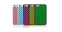Heat Dissipation Colorful Soft TPU + PC Back Cover Case for iPhone5s 6 case