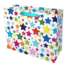 Painted Stars Medium Gift Bag , daiso size gift bag , New Stars Medium Gift Bag