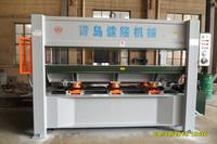 short cycle melamine laminating hot press machine/particle board hot press machine/mesin hot press