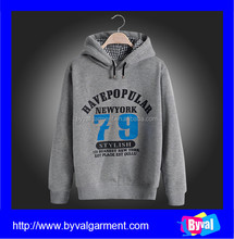 Bulk sale full customized mens winter 100% cotton rubber printing dri fit hoodies with hood