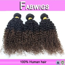 Fabwigs alibaba china 6a grade ombre kinky curly wholesale human hair weave extensions distributors, brazilian hair wholesale