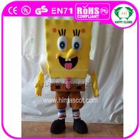HI CE Carnival Character Spongebob mascot costumes, cartoon Spongebob mascot