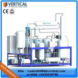 Chongqing oil machinery manufacture used lubricant oil distillation equipment
