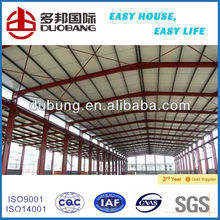 21 century Modern steel structure building for shopping center