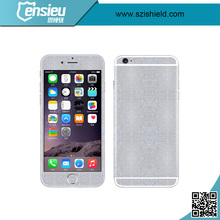 High transmittance Silver Diamond AB double sides screen protector film for mobile phone