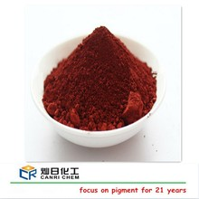 iron oxide yellow and pigment red 110 120 190 for cold asphalt/concrete til/making paint