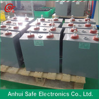 oil type 500uF 4500VDC high voltage pulse capacitor