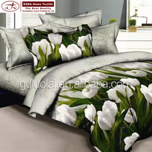 Alibaba china new products full size 4 piece bedding sets 3d egyptian cotton bedsheet