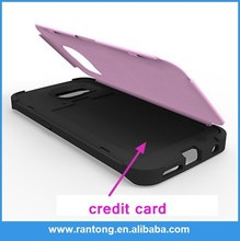 Hot selling all kinds of sticker silicone phone case card holder reasonable price