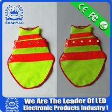 2015 Hot Selling Reflective LED Dog Vest With LED Lights