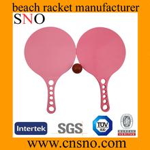 Wholesale plastic beach ball racket set