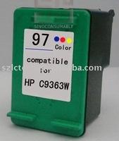 Inkjet Cartridge C9363W(#97) for deskjet 460/5740/5940/6520/6540/6620/6840/6890/9800