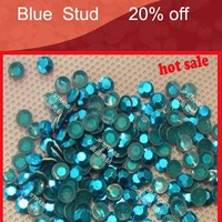 iron on studs for motifs transfer heat press wholesale price /hot fix studs for denim clothing