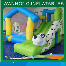Cheap inflatable combo bouncer/commercial inflatable bouncer/infatable bouncer with slide