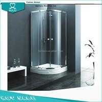 M-30242 steam shower cabins wet room glass panels tiled shower rooms