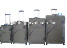 2013 popular style four pieces set foreign export luggage bag