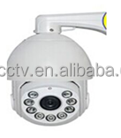 18X Optical Zoom H.264 2.0Mega Pixel 1080P IP High speed dome camera with IR night vision