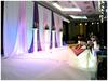 indian wedding decorations stage wedding backdrop/ice silk stage backdrop design wholesale
