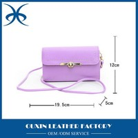 modern plain leather tote mini bag for women with long narrow strap for weekend, customized logo leather travel bag