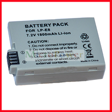 for Canon LP-E8 battery for Canon EOS 550D 600D Kiss X5 X6i T4i T2i