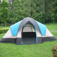2 room family outdoor camping tents /leisure tents for 4 people
