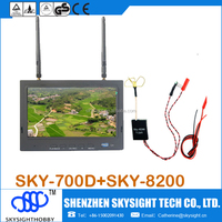 Skysighthobby new fpv system for the RC airplane sky-802+sky-700D