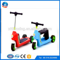 2015 new model Chinese wholesale cheap CCC high quality unique slipping three wheel kids kick scooter/kids scooter