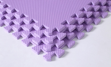 purple cheap interlocking gym foam mat for hot toys