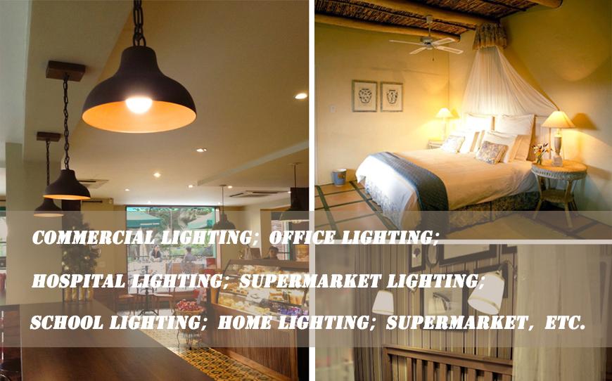 A60 Plastic 200 Degree LED Lamp Bulb 6W E27 Bulb LED Light