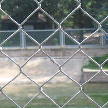 high tensile hot dipped galvanized chain link fence for slope protection