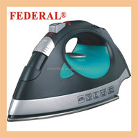 Continuous strong steam iron with cleaning hole soleplate from Cixi factory CE GS ROHS
