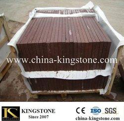 Low price red natural granite g666 in stock